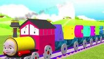 алфавит поезд песни для детей, ABC песни для малышей акустика авсd на английском для детского сада