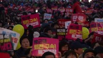 Hundreds of thousands protest against South Korean president