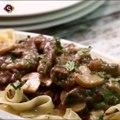 Beef Stroganoff Recipe - Easy Beef Stroganoff Recipe by Sooperchef
