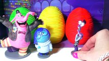 INSIDE OUT Surprise Eggs Play-Doh Kids Toys. Joy, Sadness, Disgust, Fear, Anger 5 EMOTION FIGURES