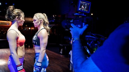 Behind-the-Scenes with Tate and Rousey