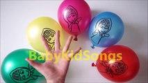 5 Masha Color De Los Globos De Aprender Los Colores Compilación Superior Espectáculo De Globos De Dedo Vivero Rhym