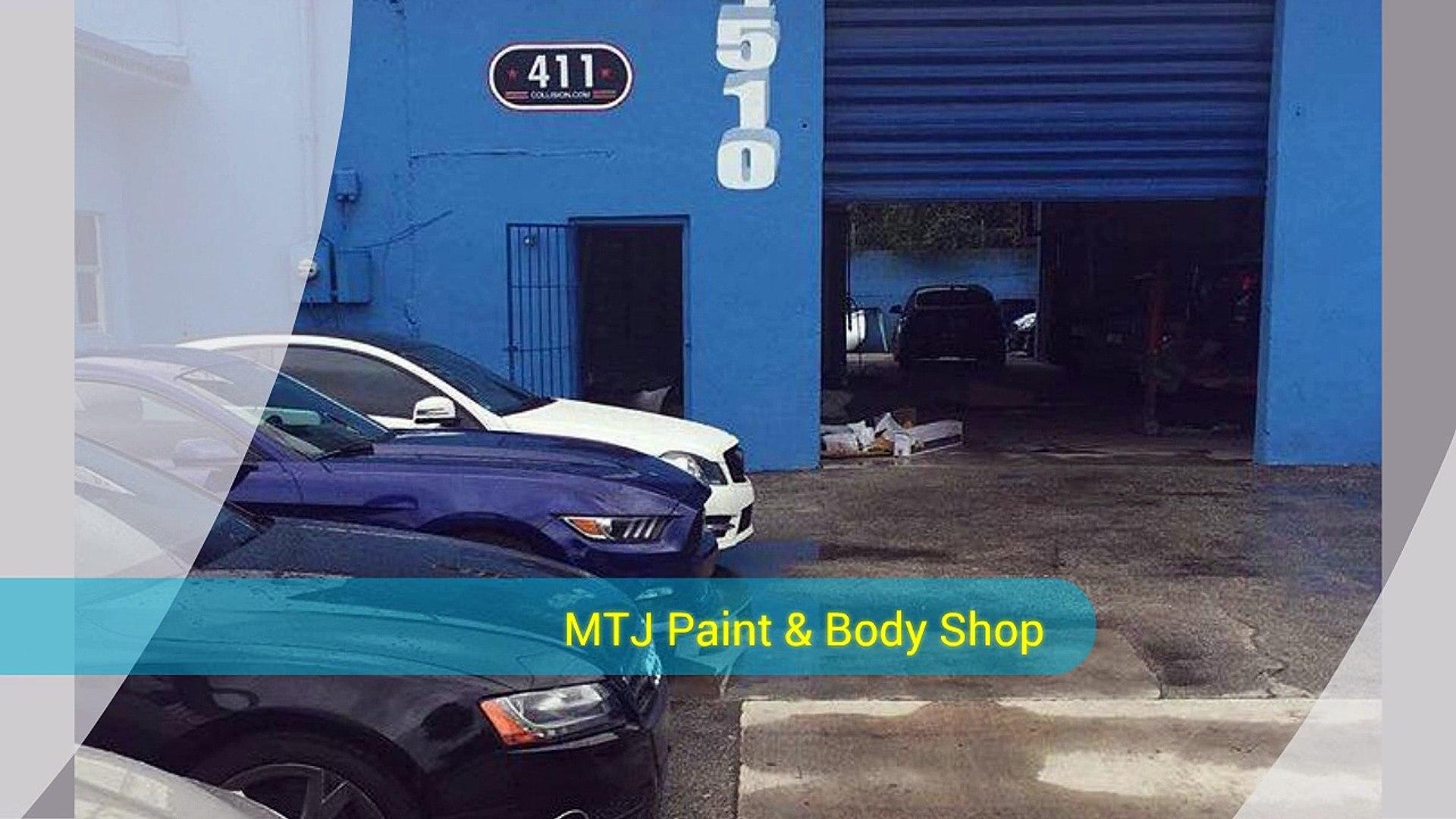 Tow Truck Miami - MTJ Paint & Body Shop (305) 632-1914