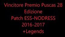 Vincitore Premio Puscas 28 Edizione Patch ESS-NODRESS 2016-2017+Legends