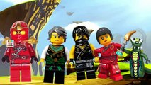 Lego Ninjago Nursery Rhyme Song, Play Doh Finger Family