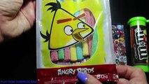 Angry Birds Chewing Gum Mentos M&Ms a lot of candy