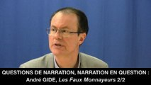 II. André GIDE, Questions de narration, narration en question dans Les Faux-monnayeurs - Jean-Pierre LANGEVIN