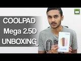Coolpad Mega 2.5D Unboxing