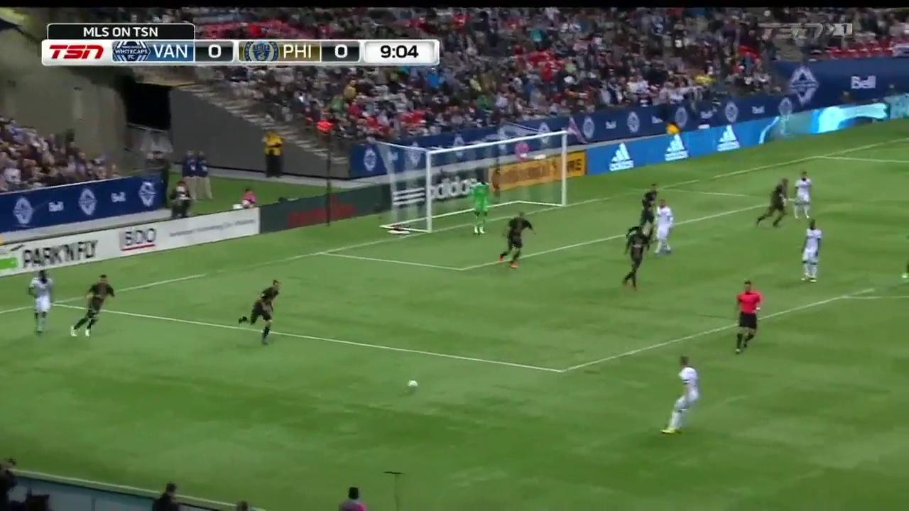 HIGHLIGHTS | Vancouver Whitecaps 0-0 Philadelphia Union – 05.03.2017 MLS