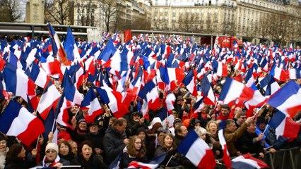 Merci à vous qui êtes les militants de la France !