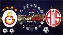 Antalyaspor vs Galatasaray 2-3 All Goals & Highlights HD 06.03.2017