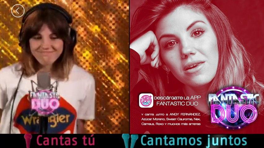 "Angy en la APP ""Fantastic Duo"" - Can't  stop the feeling"