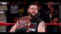 GOLDBERG VS KEVIN OWENS  (FULL MATCH ) Goldberg Destroy Owens