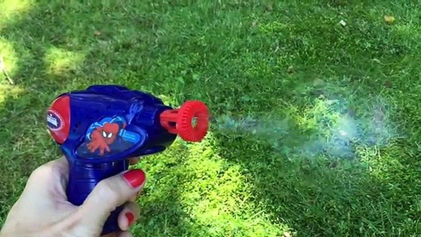 Burbujas Fabricante de Máquinas de Diversión de la Familia de la Pistola de Agua Luchar Juguetes para los niños Fuera de la hora de Juego de Ryan Juguetes