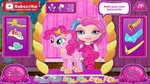 Bebé Barbie y Mi Pequeño Pony Cuidado de Bebé de barbie y MLP Dora la exploradora