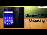 Gionee F 103 Unboxing - GizBot