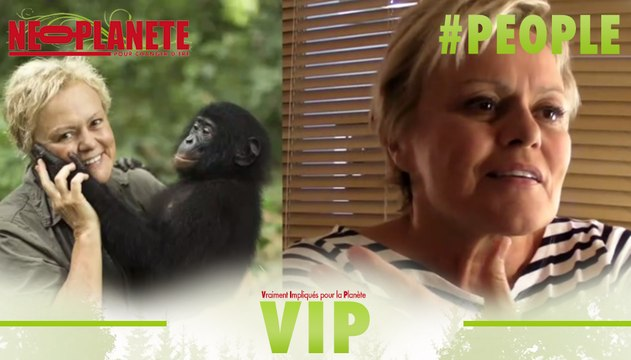 [VIP] Muriel Robin, la drôle de tantine des bonobos