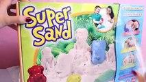 Super Sand Castle Playset SuperSand Modeling Sand Make Your Own Sand Castle DIY Castillo d
