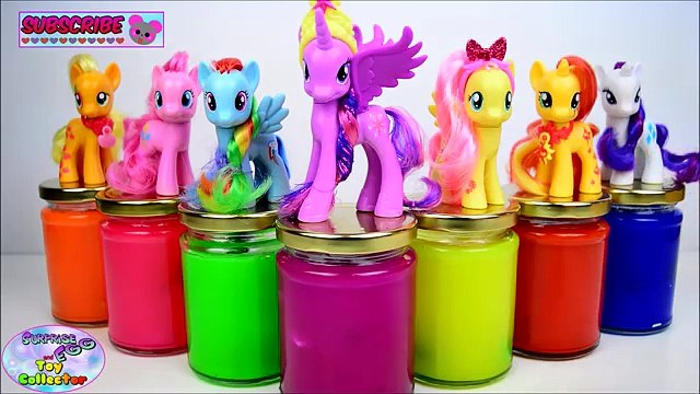 My Little Pony Slime Surprises Mane 6 MLP Shopkins Surprise Egg and Toy Collector SETC