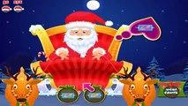 Santa claus se prepara para el Año Nuevo en el SPA! De dibujos animados sobre un santa claus para los niños! Niños mult