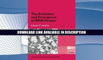 eBook Free The Evolution and Emergence of RNA Viruses (Oxford Series in Ecology and Evolution)