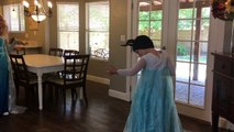 Frozen Elsa & Anna lose their hair! Spiderman & Maleficent: Funny Superheroes in real life