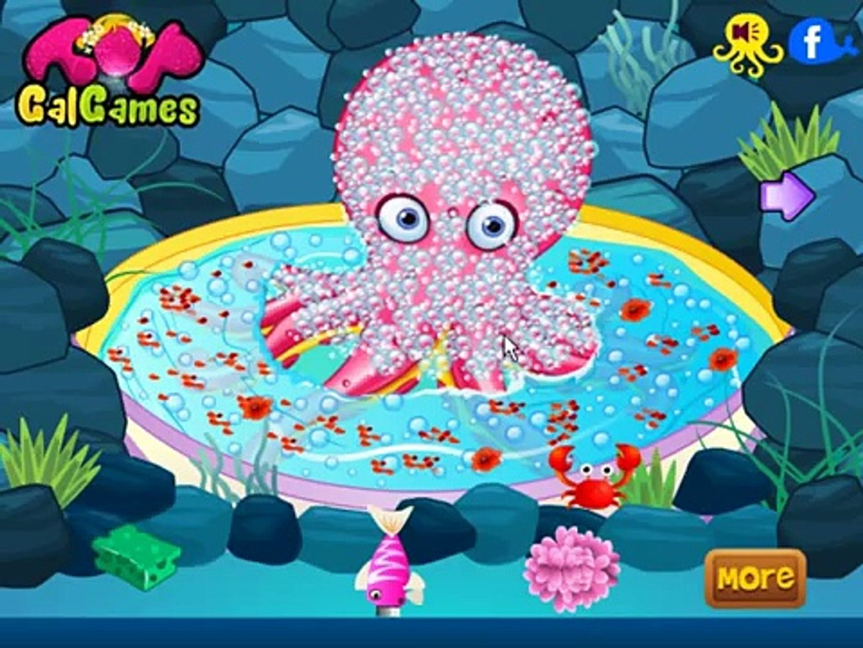 Симпатичные осьминог уход игра онлайн игры новые детские игры удивительные смешные игры [в HD] 2016