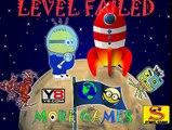 Minions Banana Astronauta de la Mosca de Cohete en el Espacio de la Película Completa de Dedo de la Familia de los Secuaces Canciones de Enfermería