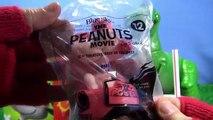 The Peanuts Movie Snoopy Toys McDonalds Happy Meal Toys - new Set kid friendly