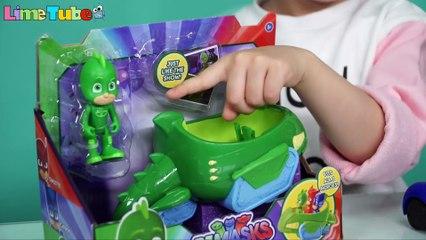 Lime's PJ MASKS_Transforming Car Toys [Lime Tube] 라임의 출동파자마삼총사 캣보이 도마배미 올빼미아로 변신 자동차 장난감 영웅놀이 라임튜브