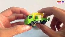 Ice Shredder Vs Hino Truck   Tomica & Hot Wheels Toys Cars For Children   Kids Videos HD