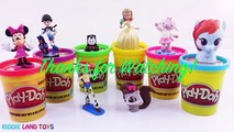 Learn Colors Fuli Molly Izzy Anna Wallykazam Play-Doh Dippin Dots Surprise Eggs Tubs Episodes