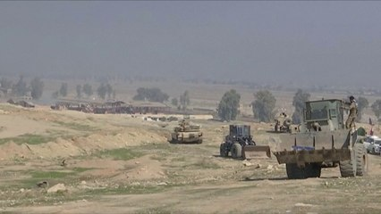 Iraqi security forces attack Mosul airport