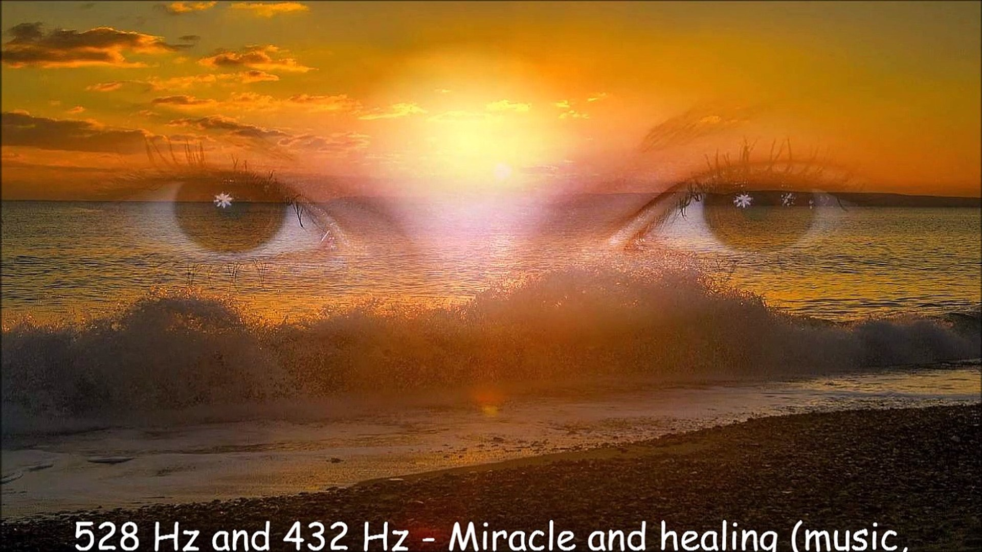528 Hz and 432 Hz - Miracle and healing (music, vibration, noise, sound,  frequency)