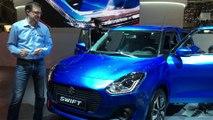 Suzuki swift en direct du salon de Genève