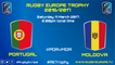 PORTUGAL / MOLDOVA - RUGBY EUROPE TROPHY 2016-2017