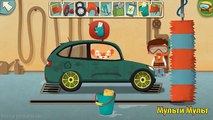 Las películas de dibujos animados para niños sobre la máquina de escribir, el autoservicio y las reglas de tránsito: el Doctor Машинкова