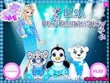 ELSA FROZEN CUIDA DE SUS MASCOTAS! - ELSAS PETS FASHION SHOW!