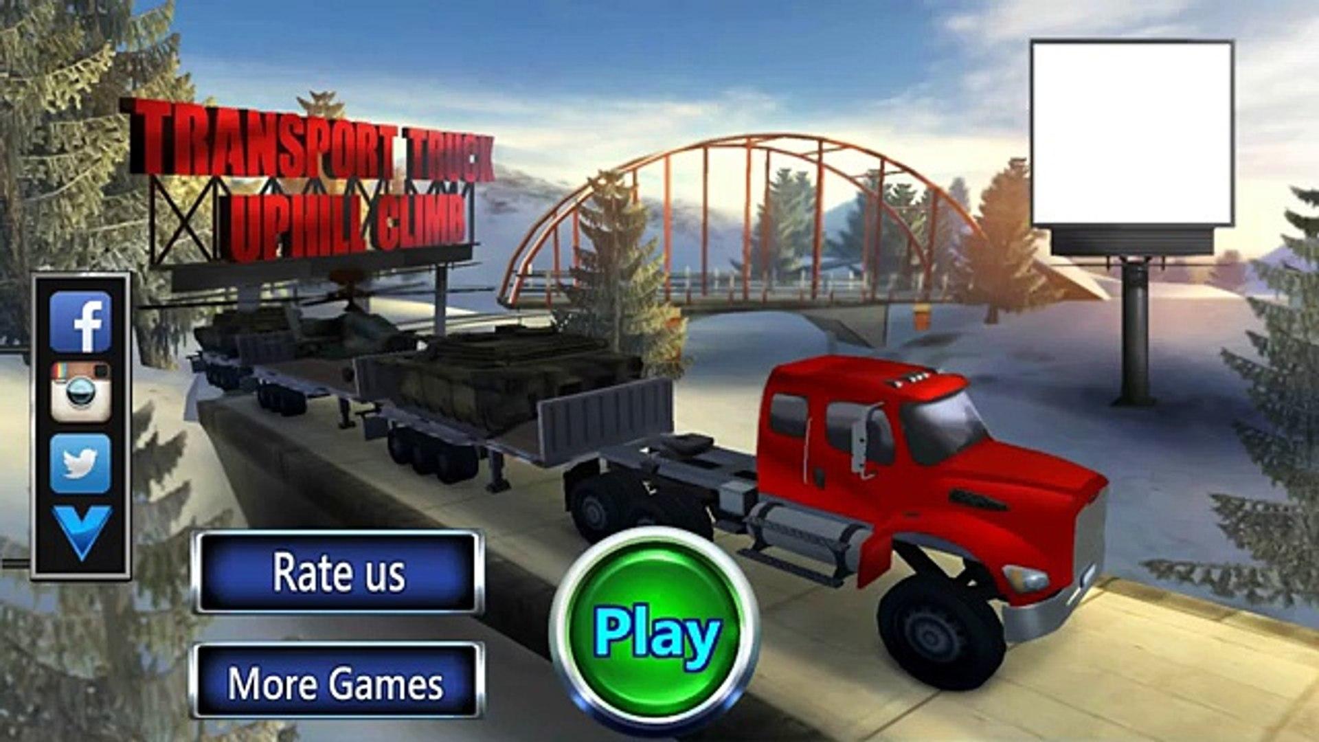 Транспорт грузовик восхождение на андроид геймплей HD