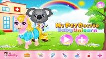 Divertido juego de Navidad de Santa Bebé Juegos de Cuidado de Mascotas, Juegos, Animales Doctor juego para los niños
