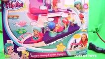 Flipsies Doll Sandys House and Ocean Cruiser Adventures Lots of Toys