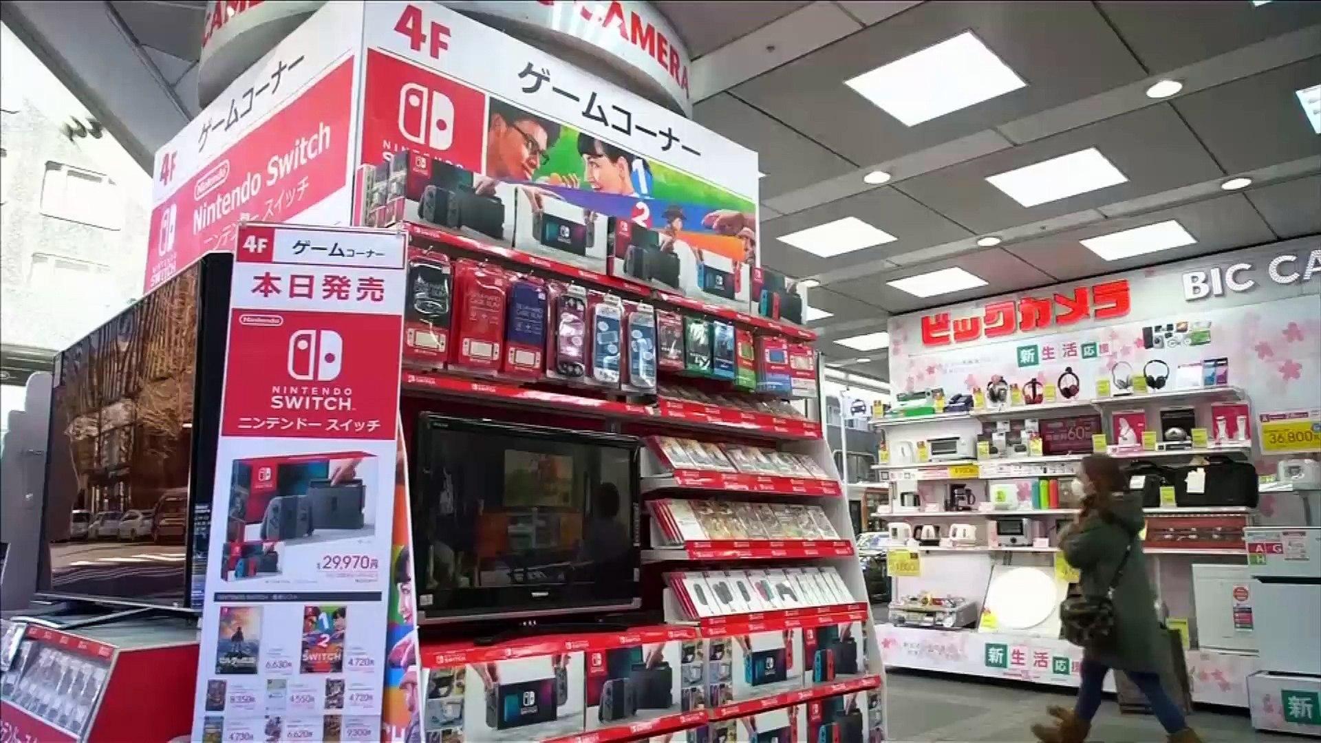 Nintendo Switch sells fast in Japan