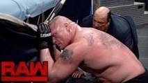 WWE Raw 6 March 2017 Highlights Brock Lesnar vs Kofi Kingston - wwe raw 3-6-17 highlights