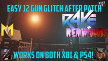 "Rave In The Redwoods Glitches - Solo 12 Gun Glitch After Patch XB1 & PS4 - ""12 Guns Glitch After 1.10"""