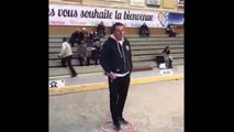 Pétanque - Analyse de la gestuelle de Philippe SUCHAUD
