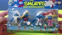 The Smurfs Gargmel Clumsy Smurf Smurfette Smurfs - LES SCHTROUMPFS Unboxing Smurf Cartoon