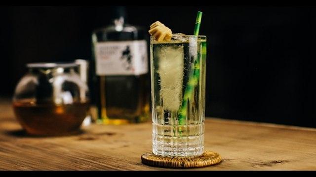 Green Tea Highball Cocktail Recipe - Liquor.com