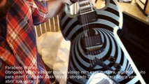 UNBOXING Zakk Wylde GUITARS - WarHAMMER and VIKING V - ABRINDO Zakk Wylde guitarra
