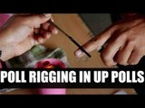 UP Elections 2017 : Political parties using 'Fake Fingers to rig polls | Oneindia News