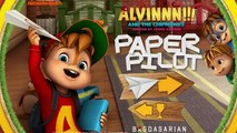 Alvin and The Chipmunks Paper Pilot - Alvin and The Chipmunks Games